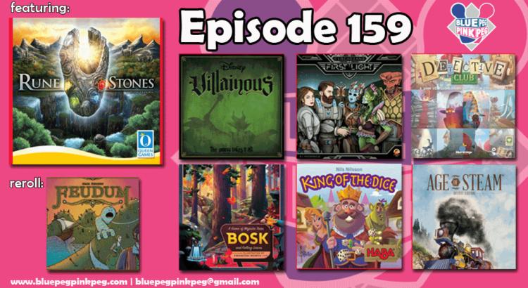 Episode 159 featuring Rune Stones by Queen Games