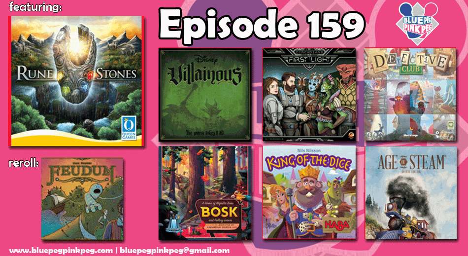 Episode 159 featuring Rune Stones by Queen Games